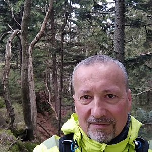 Merkys na vrcholu Burkův vrch - Z vrchol (8.5.2021 12:10)