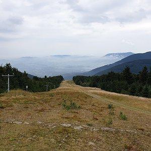 Petr Pepe Peloušek na vrcholu Radegast - Z vrchol I (7.9.2019 12:12)