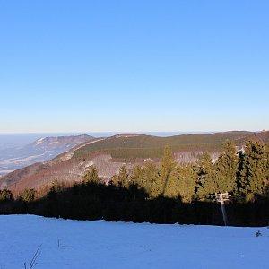 Zdeněk Pfof na vrcholu Radegast - Z vrchol I (25.1.2020 15:00)
