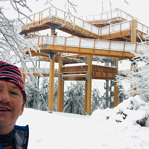 CERF1971 na vrcholu Tanečnice - Z vrchol (9.1.2021 11:31)