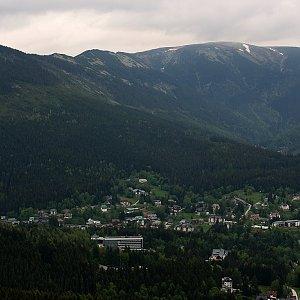 Bouřka na vrcholu Harrachova skála (31.5.2019 8:54)