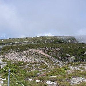 Martin a Jana Halamíčkovi na vrcholu Vysoká pláň (18.7.2021 17:49)