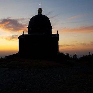 Michal na vrcholu Radhošť (25.7.2019 20:53)