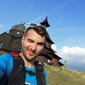Martin Vlček na vrcholu Radhošť (19.8.2019 18:24)