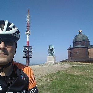 Vítězslav Vrána na vrcholu Radhošť (29.8.2019 10:19)