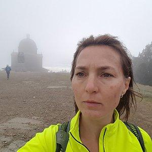 Marcela Kubíčková na vrcholu Radhošť (28.9.2019 13:37)