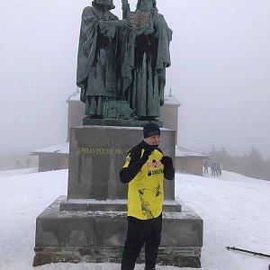 Ombre_Zamakejsi.cz na vrcholu Radhošť (4.1.2020 12:25)