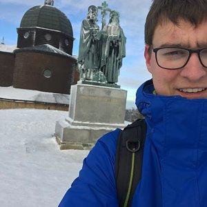 Bronislav na vrcholu Radhošť (6.1.2020 13:00)