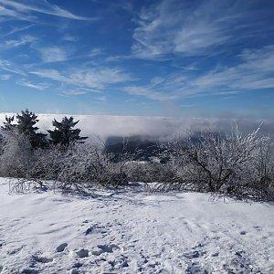 Laina666 na vrcholu Radhošť (12.1.2020 11:12)
