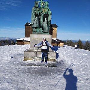 Satánek na vrcholu Radhošť (12.1.2020 11:16)