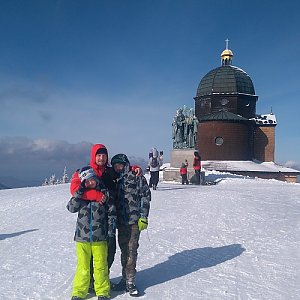 trefi.s na vrcholu Radhošť (13.2.2020 12:04)