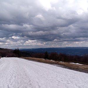 Milan Meravy na vrcholu Radhošť (12.3.2020 15:20)