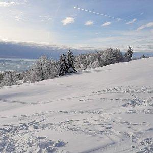 Ester Ostárková na vrcholu Radhošť (30.12.2019 12:44)
