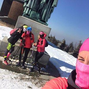 Majky na vrcholu Radhošť (24.3.2020 14:08)