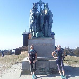 Hanka Ličková na vrcholu Radhošť (11.4.2020 16:09)