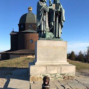 RŠind na vrcholu Radhošť (16.4.2020 7:20)