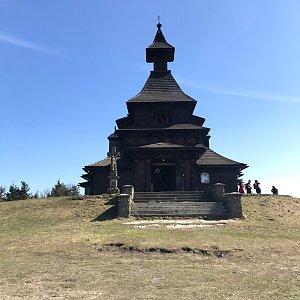 cadic na vrcholu Radhošť (18.4.2020 16:30)