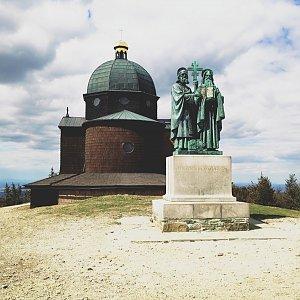 Fíkus na vrcholu Radhošť (26.4.2020 14:06)