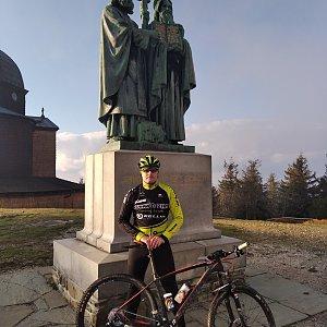 Vítězslav Vrána na vrcholu Radhošť (3.5.2020 18:47)