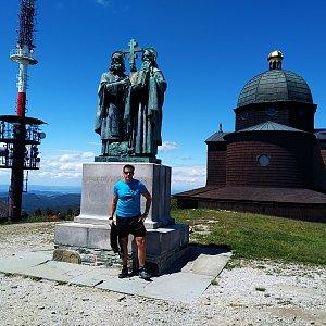 Standa na vrcholu Radhošť (6.6.2020 13:00)