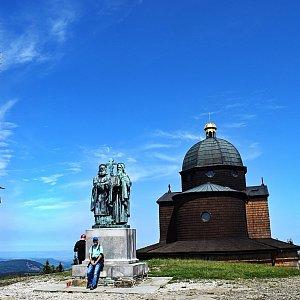 David Dudzik na vrcholu Radhošť (13.6.2020 10:36)