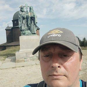 Roman Grebenar na vrcholu Radhošť (29.7.2020 9:44)