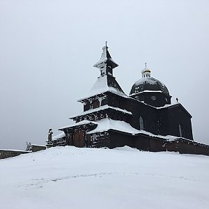 ZdenekCahlik na vrcholu Radhošť (24.6.2018)
