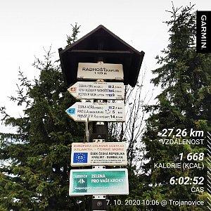 Medvěd Codiak na vrcholu Radhošť (7.10.2020 11:20)