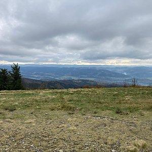 Peťka na vrcholu Radhošť (25.10.2020 13:00)
