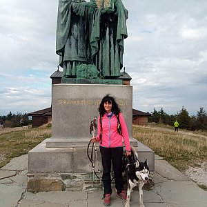 Maja na vrcholu Radhošť (10.10.2020 14:23)
