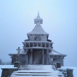 Jan Bančík na vrcholu Radhošť (26.12.2020 8:31)