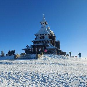 Lenka na vrcholu Radhošť (27.12.2020 13:12)