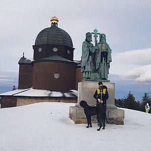 Martaska na vrcholu Radhošť (2.1.2021 12:32)