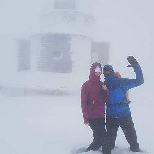 MartinMoli na vrcholu Radhošť (13.1.2019 15:53)