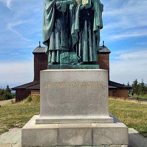 Gabča na vrcholu Radhošť (12.8.2018 14:42)