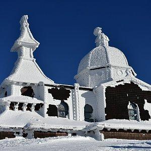 kaltz na vrcholu Radhošť (21.1.2019)