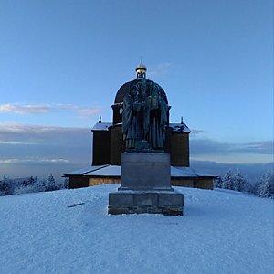 Markét na vrcholu Radhošť (4.2.2018 17:54)