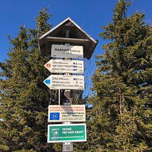 ZdenekCahlik na vrcholu Radhošť (23.3.2019 12:00)