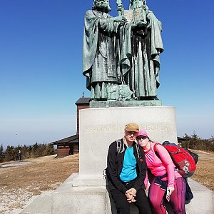 Oyunke na vrcholu Radhošť (31.3.2019 11:03)