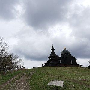 Martin Vlček na vrcholu Radhošť (4.5.2019 13:42)