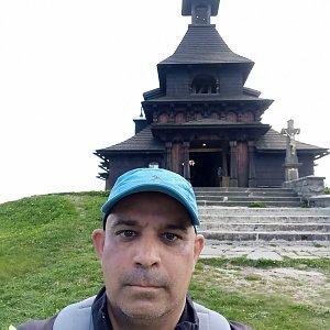 Milan Mižikár na vrcholu Radhošť (17.6.2021 10:32)