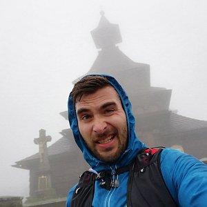 Martin Vlček na vrcholu Radhošť (9.5.2019 19:08)