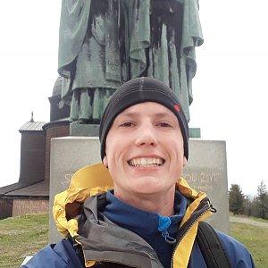 Pepa Sabo na vrcholu Radhošť (13.5.2019 13:33)
