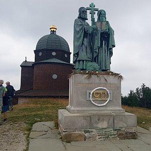 Alžběta Šlosarová na vrcholu Radhošť (20.7.2021 12:35)