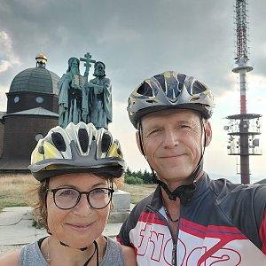 Jar Faldy na vrcholu Radhošť (24.7.2021 18:15)