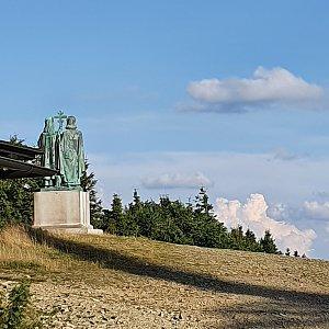 Peťulik na vrcholu Radhošť (27.7.2021 18:23)