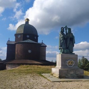 Petr h_vipet na vrcholu Radhošť (7.8.2021 17:10)
