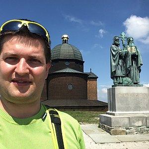 Radim Škrabánek na vrcholu Radhošť (2.6.2019 11:51)