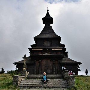 Jiřka Niedobová na vrcholu Radhošť (23.8.2021 15:08)