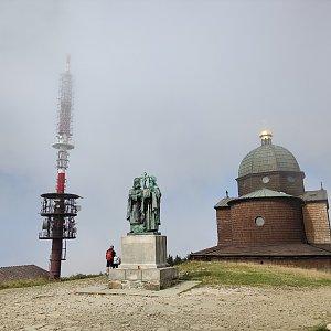 filipka na vrcholu Radhošť (5.9.2021 12:13)